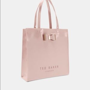 NWT Large Ted Baker SOFCON Shopper Tote in Pink